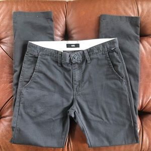 Vans Pants Chinos Gray 31 x 32